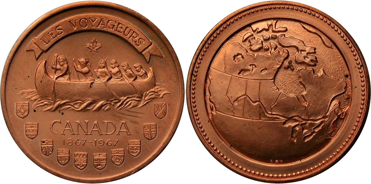Les Voyageurs - 1867-1967