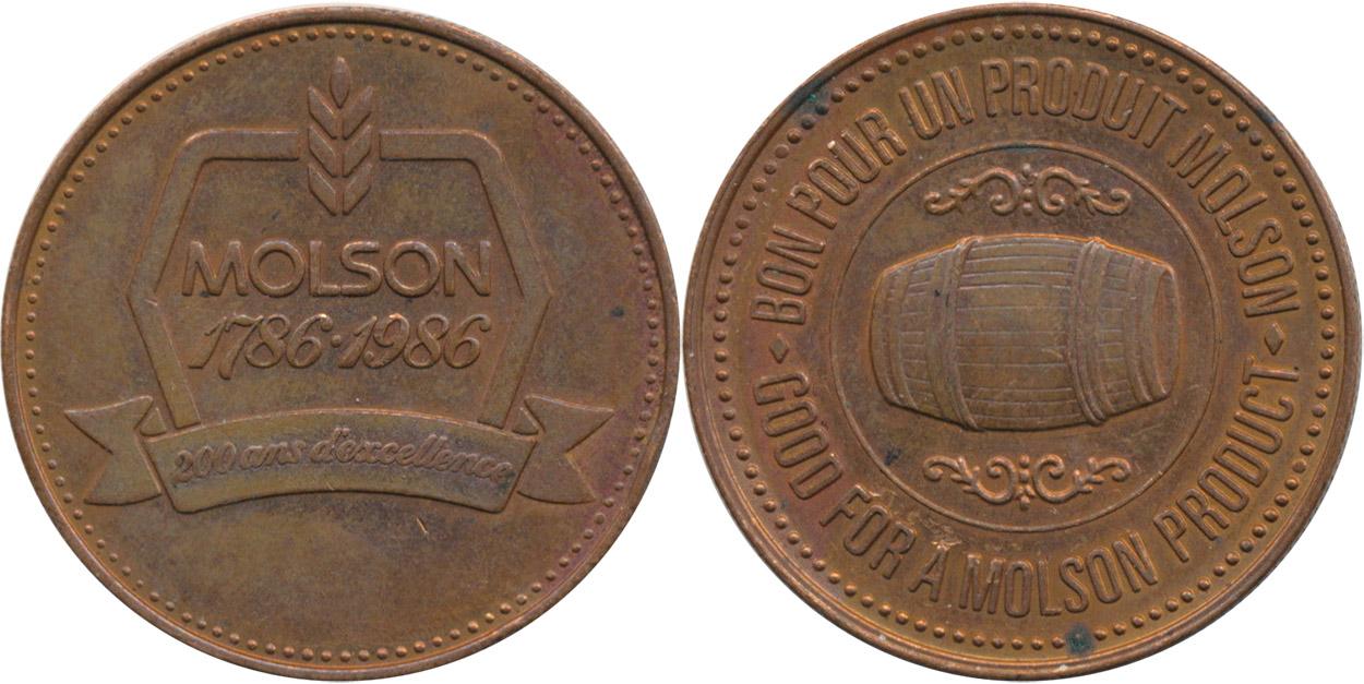 Molson - 1786-1986