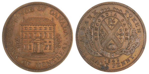 1/2 penny 1842