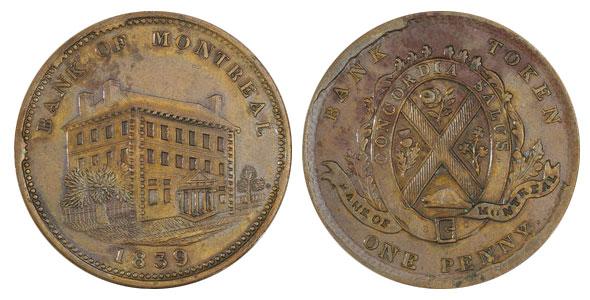 1 penny 1839