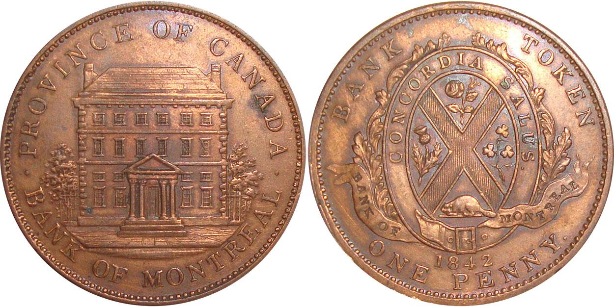 1 penny 1842