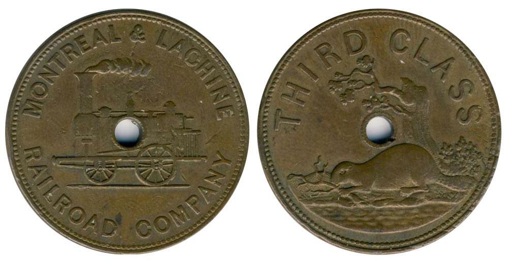 Railroad Company - Montreal & Lachine