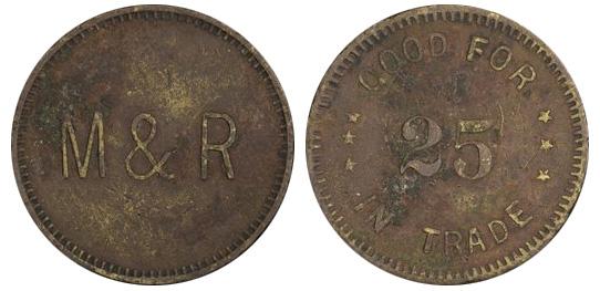 Morris & Randy - Blairmore - 25 cents
