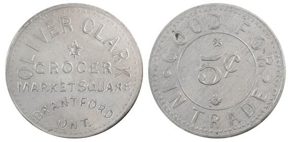 Oliver Clark - Brantford - Grocer