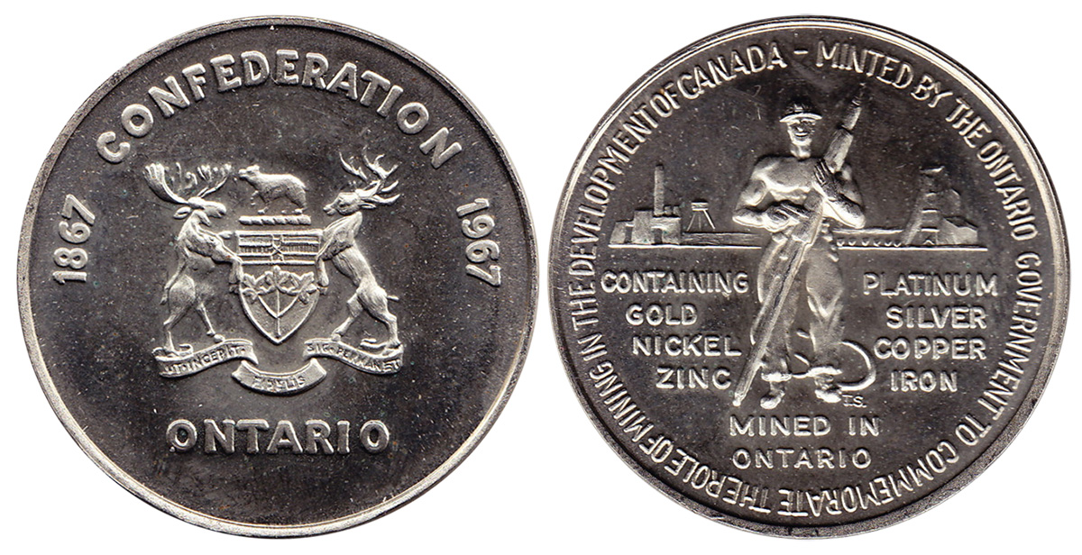 Mining Development - Ontario - 1867-1967