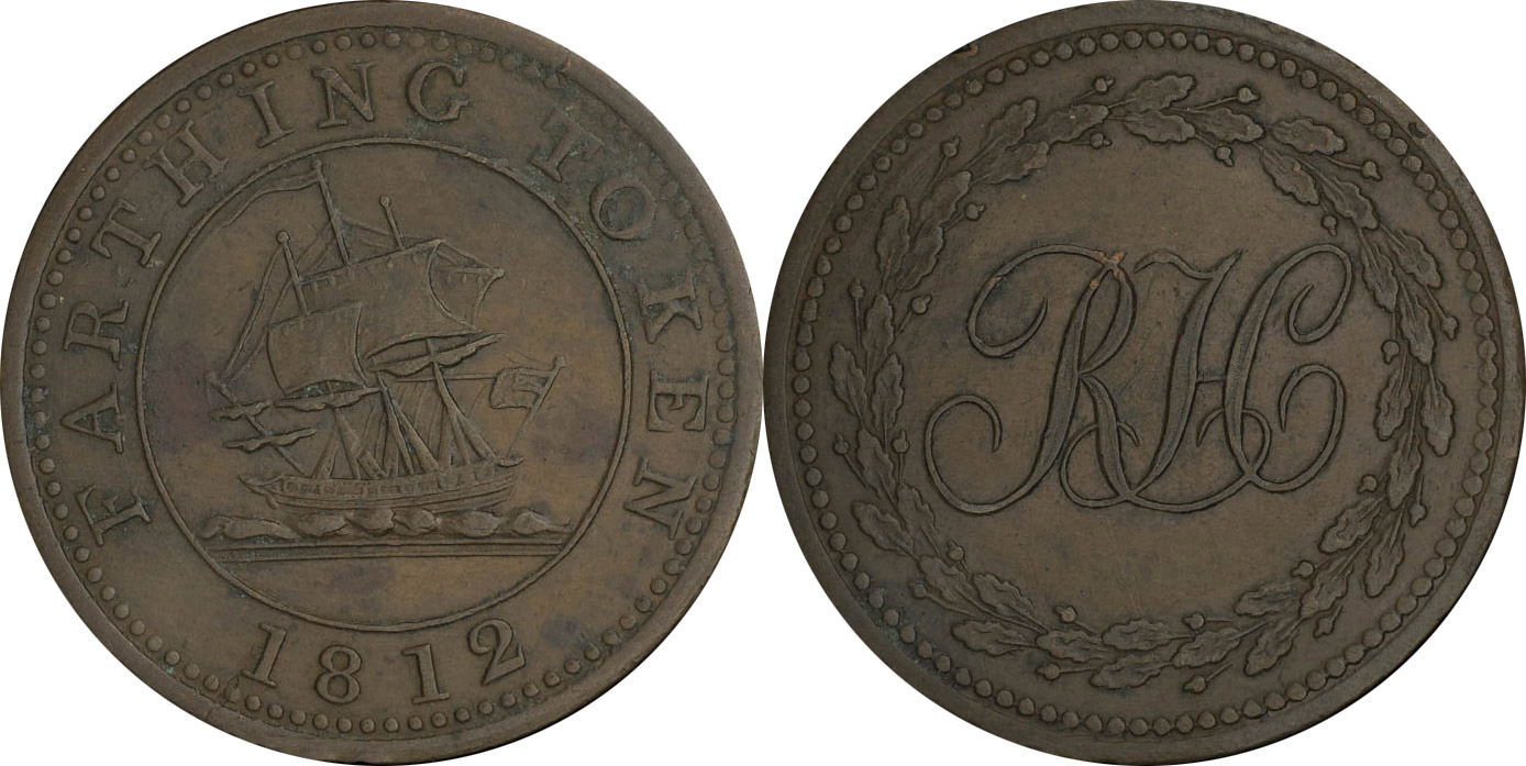 Richard Hurd - Farthing 1812