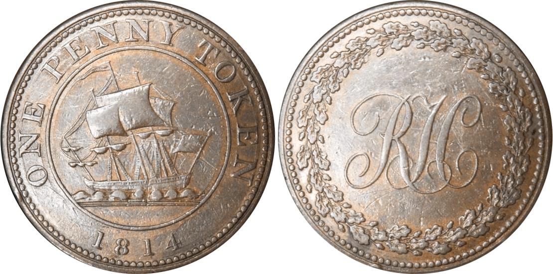 Richard Hurd - 1 penny 1814