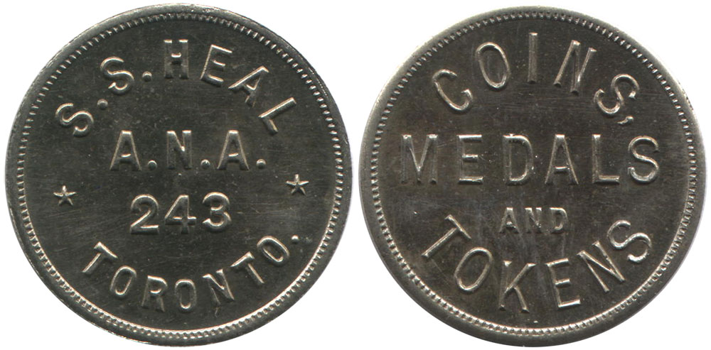 Coins And Canada Tokens And Medals Of Canada Merchant