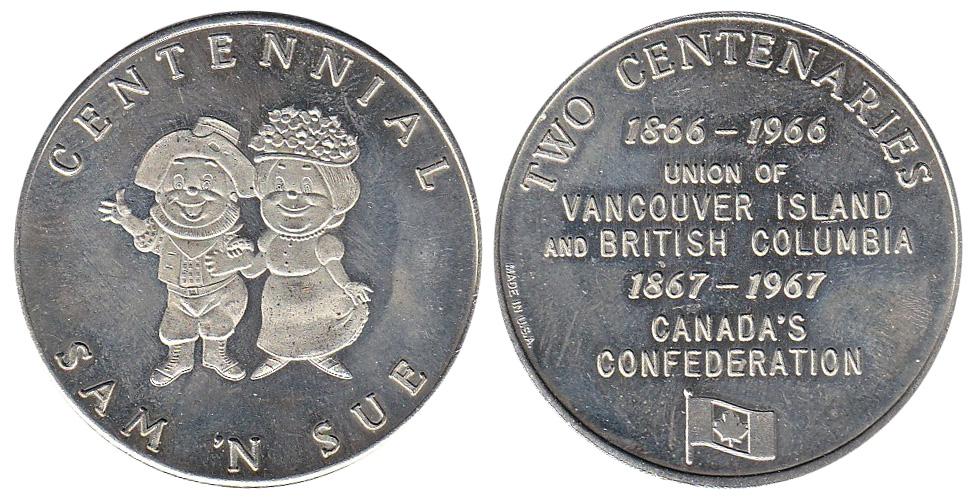 Centennial Sam 'N Sue - Vancouver