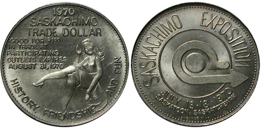 Saskatoon - Saskachimo Trade Dollar