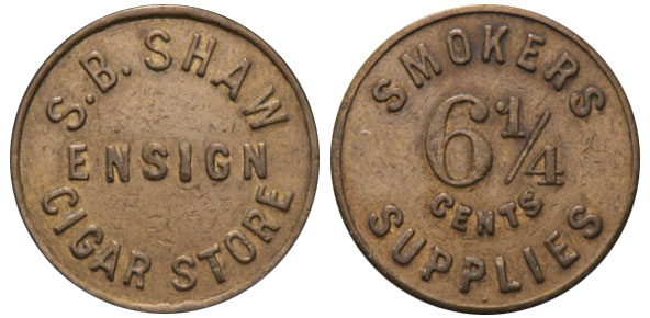 S.B. Shaw - Ensign Cigar Store - Rossland