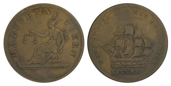 Success - 1/2 penny 1820