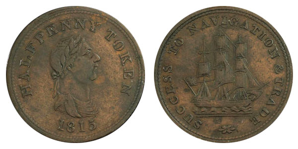 Success to Navigation - 1/2 penny 1815