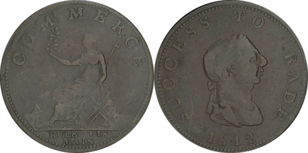 Success to Trade - 1/2 penny 1812