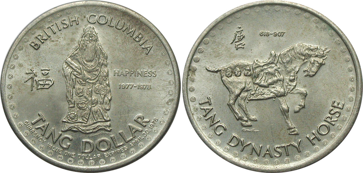 British Columbia - Tang Dollar