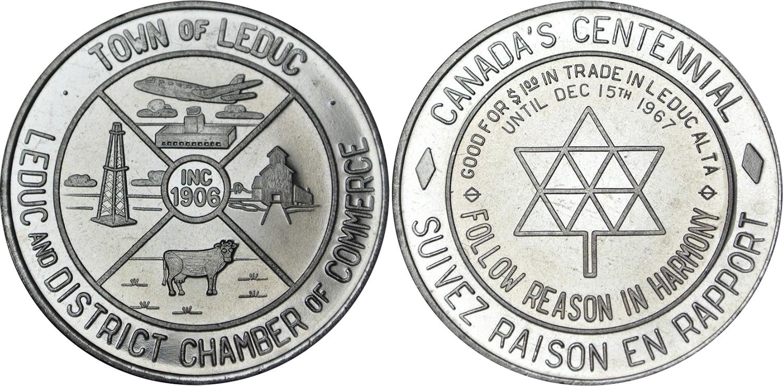 Leduc - Canada's Centennial