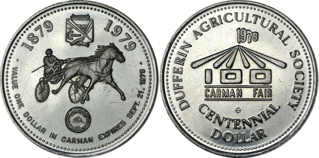 Carman - Centennial Dollar