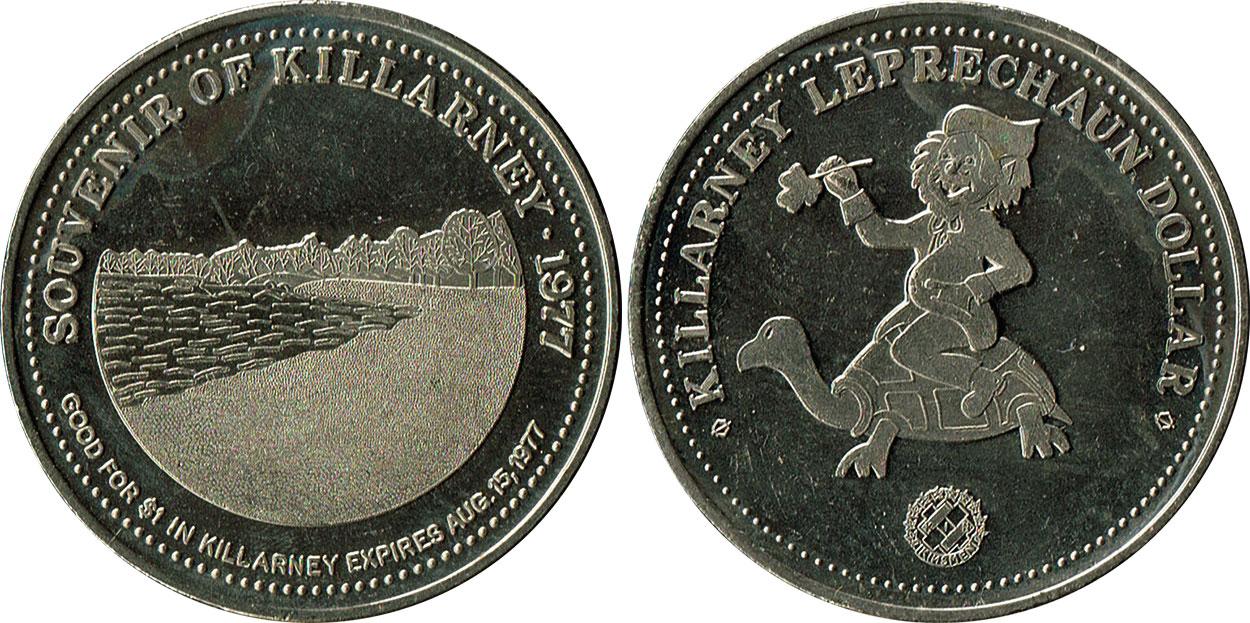 Killarney - Leprechaun Dollar