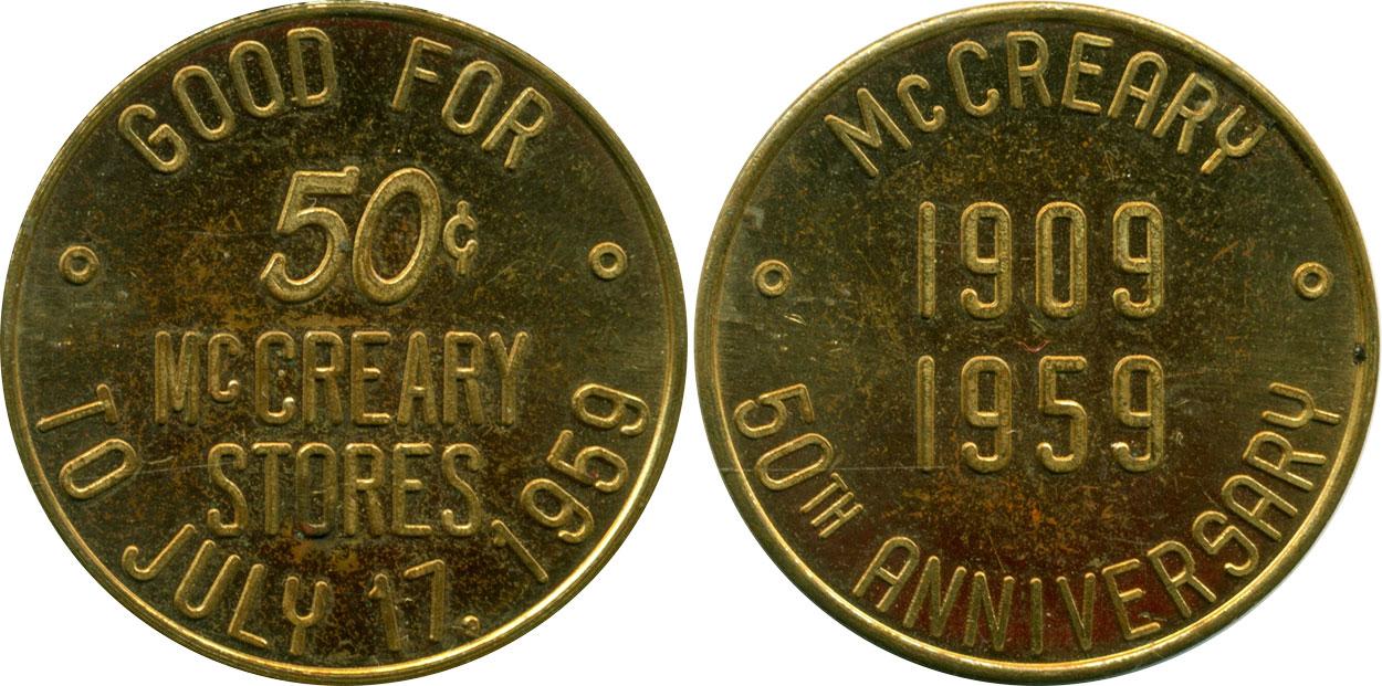 McCreary - 50th Anniversary