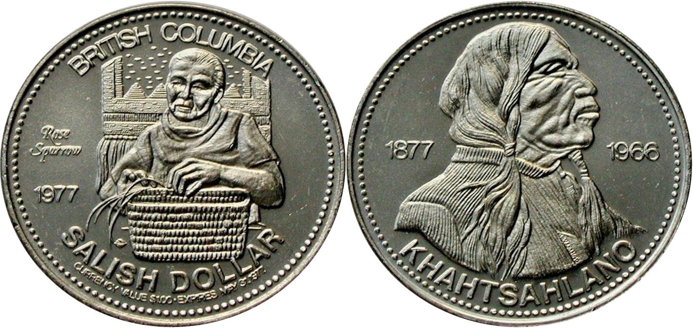 Vancouver - Salish Dollar