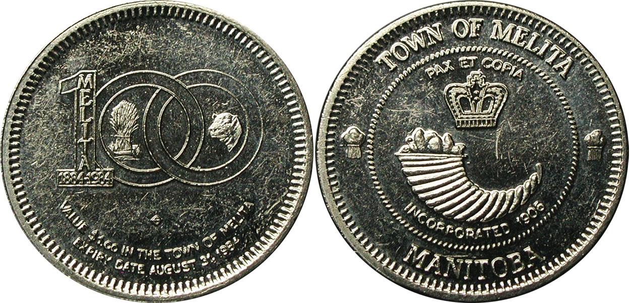 Melita - Centennial Dollar