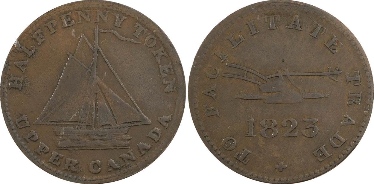 Facilitate Trade - 1/2 penny 1823