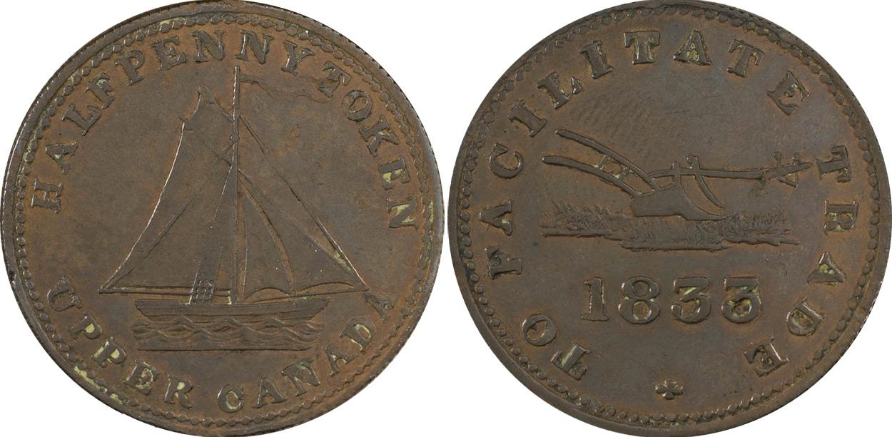 Facilitate Trade - 1/2 penny 1833
