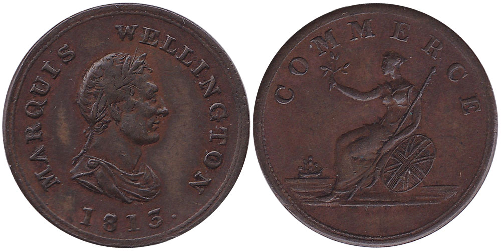 Commerce - 1/2 penny 1813