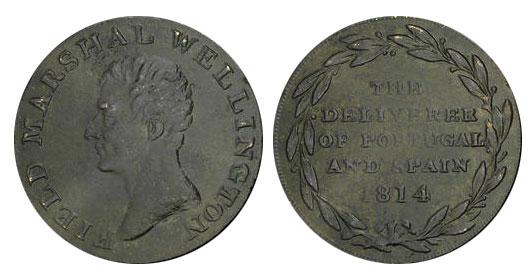 Marshall - 1/2 penny - 1814