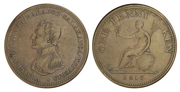 1 penny 1813
