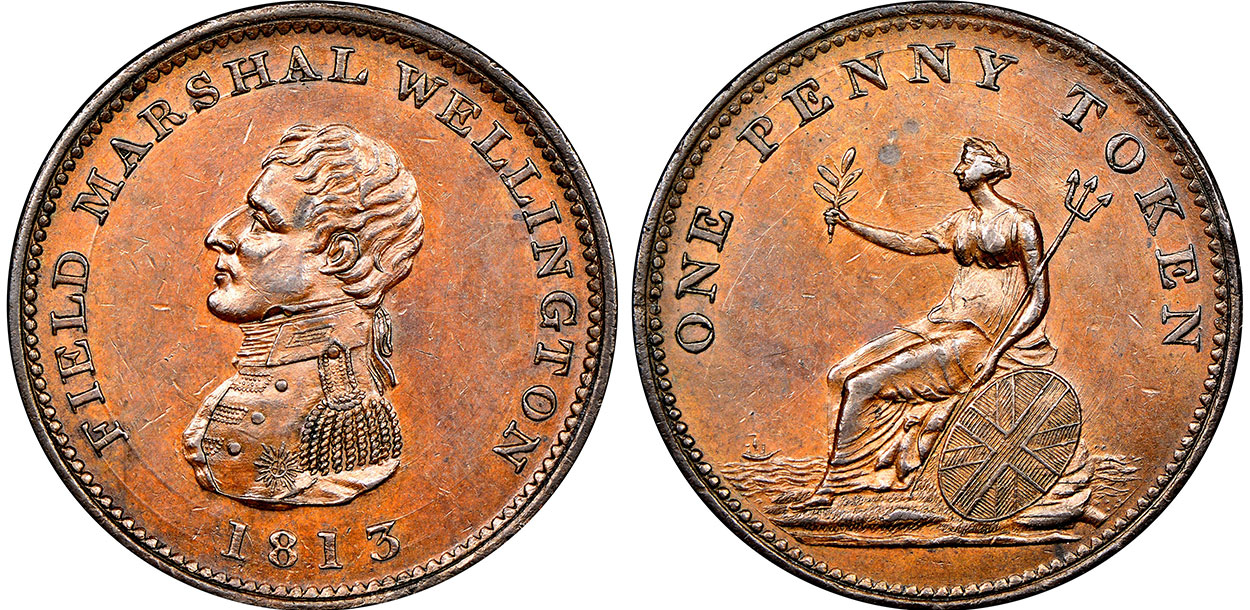 1 penny 1813 - Without wreath