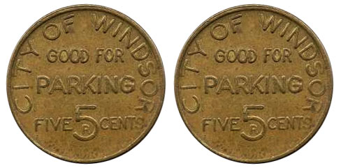 Windsor - 5 cents