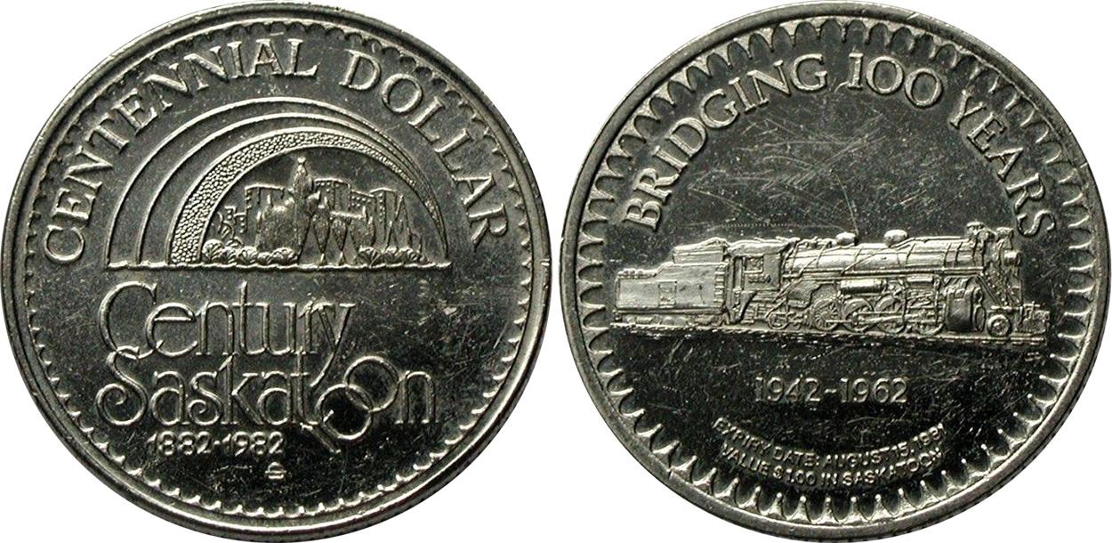 Saskatoon - Centennial Dollar