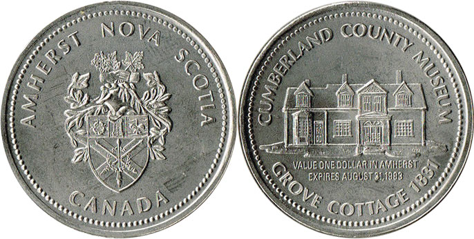 Amherst - Trade Dollar