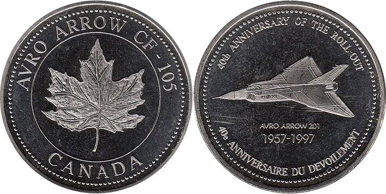 Avro Arrow CF-105 - 40th anniversary