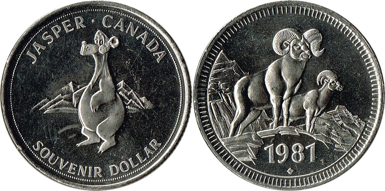 Jasper - Souvenir Dollar