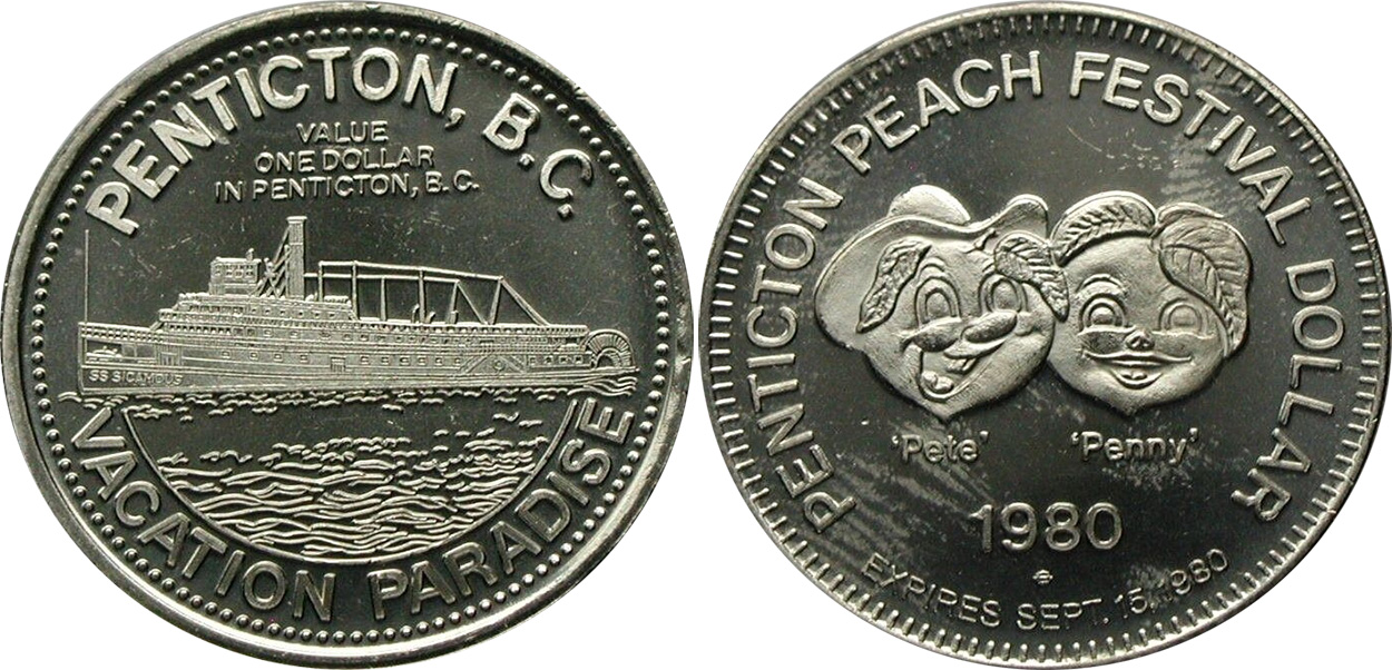 Penticton - Peach Festival Dollar