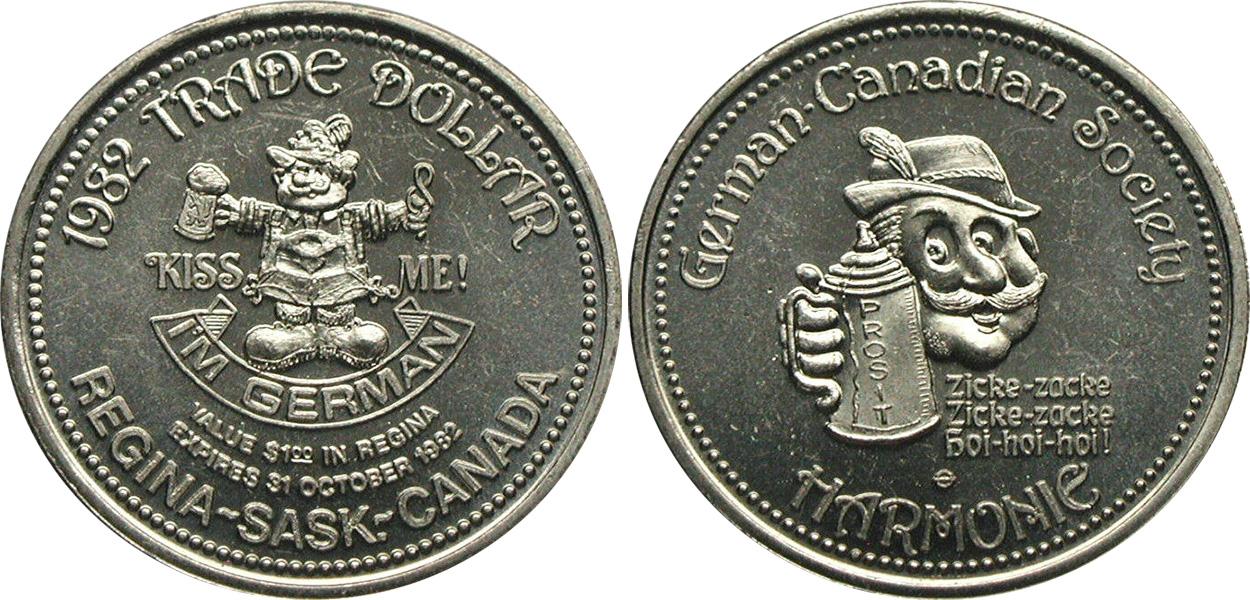 Regina - Trade Dollar