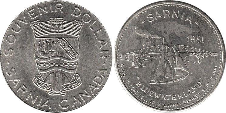 Sarnia - Souvenir Dollar