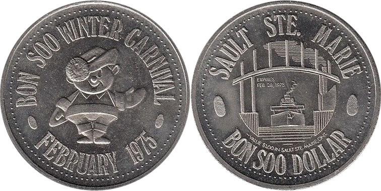 Sault Ste. Marie - Bon Soo Dollar