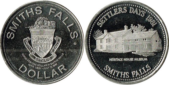 Smiths Falls - Trade Dollar