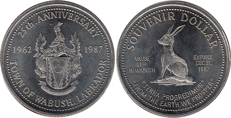 Wabush - Souvenir Dollar