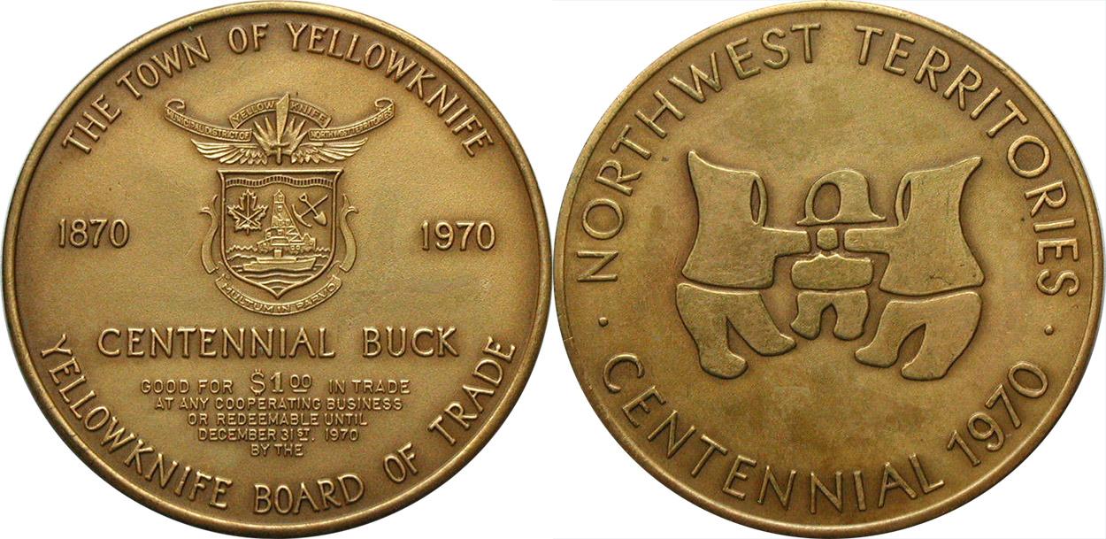 Yellowknife - Centennial Buck
