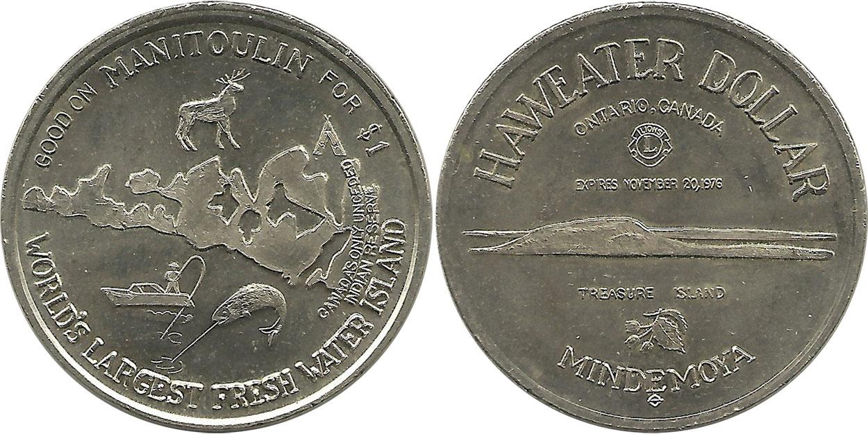Manitoulin - Haweater Dollar