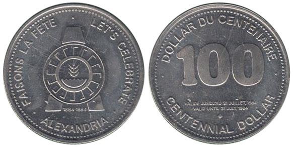 Alexandria - 1884-1984