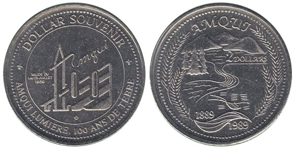Amqui - Amqui Lumi�re - 1889-1989