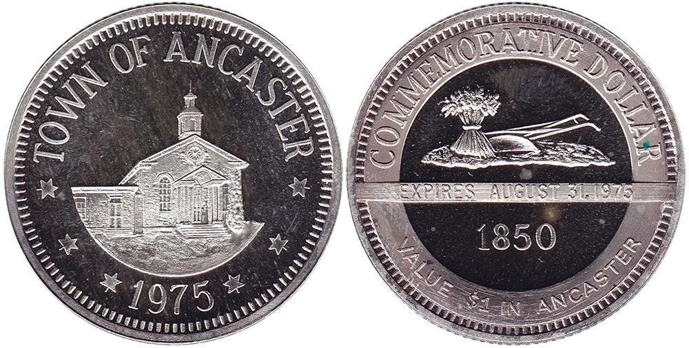 Ancaster - Commemorative Dollar