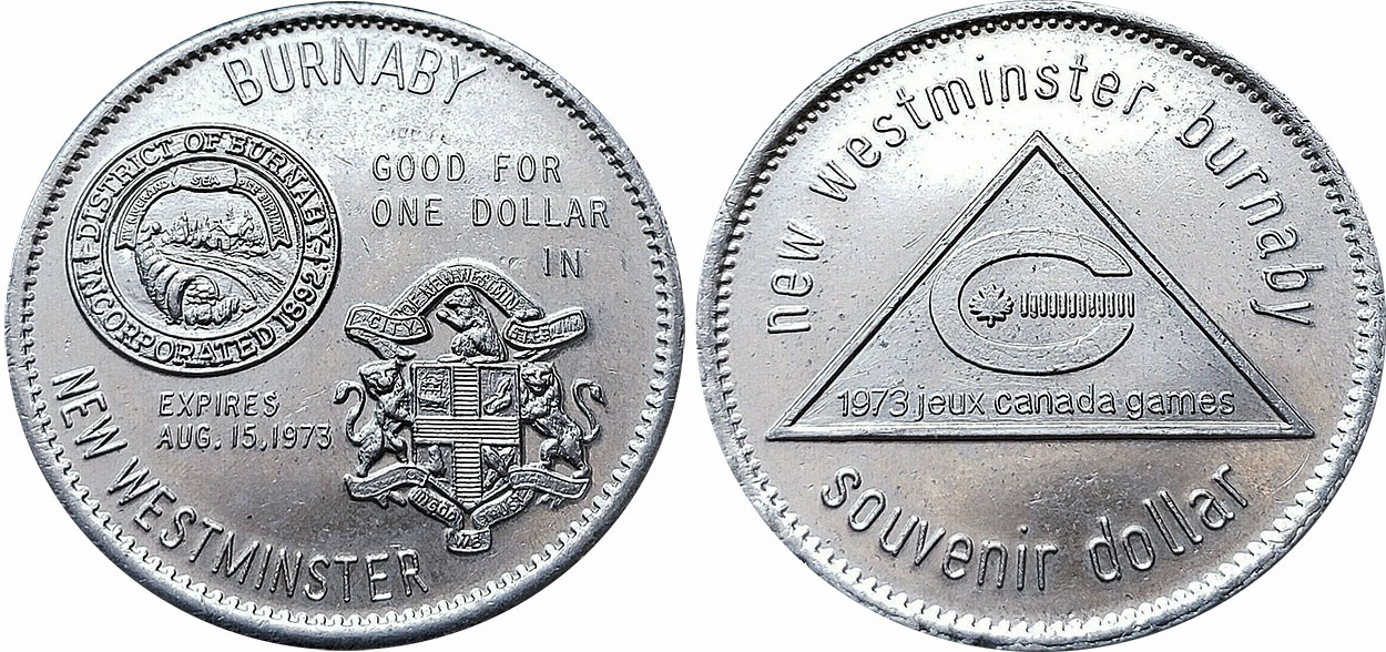 Burnaby - Souvenir Dollar