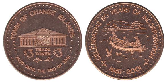Change Islands - 1951-2001