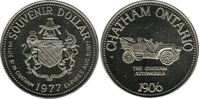 Chatham - Souvenir Dollar